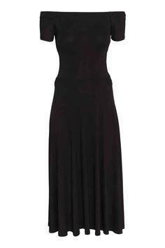 Vestido hombro descubierto | H&M