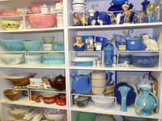 Pyrex at Old River Valley Antique Mall Complete