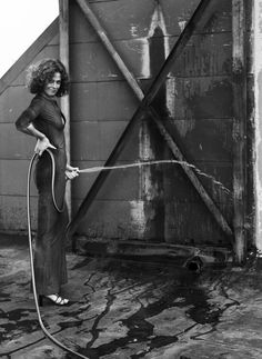Sigourney Weaver by Helmut Newton, Los Angeles 1983