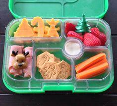 Yumbox Christmas lunch idea!