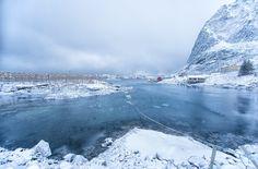 the frozen boat by helmut_f Lofoten, Still Life, Frozen, Boat, Mountains, Nature, Travel, Outdoor, Photos