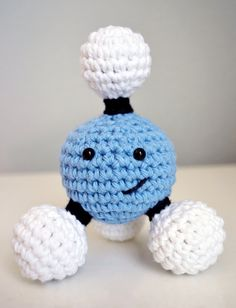 Mr. Methane The Crochet Pattern by Primandplush on Etsy
