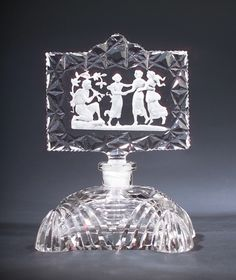 Czechoslovakian perfume bottle, circa 1920s,