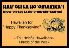 Makes me think of National Lampoon's Christmas Vacation!! Via The Helpful Hawaiian's Phrase of the Week: Hau'oli La Ho'omakika'i