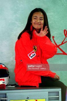JEAN ALESI'S GIRLFRIEND KUMIKO GOTO Kumiko Goto, Celebrity Crush, Asian Woman, Asian Beauty, Girlfriends, Adidas Jacket, Portrait Photography, Rain Jacket, Windbreaker