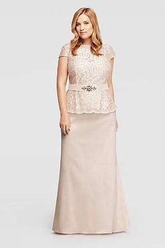 Women\'s Plus Size Dresses for All Occasions | David\'s Bridal | BB ...