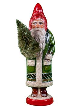 Vaillancourt 'Santa in Red and Green' Figurine available at #Nordstrom