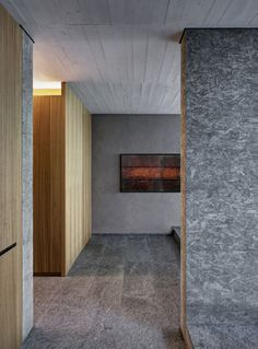 casa dbc riconversione di un deposito agricolo in abitazione colico lc 2012 Interior Design Images, Interior Design Boards, Interior Ideas, Chipboard Interior, Osb Plywood, Osb Board, Baseboard Styles, Monochromatic Room, Partition Design