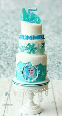 Frozen - Cake by Tamara