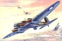 Heinkel 111A China - Roden - Taras Shtyk - box art Roden