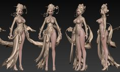 ArtStation - girl03, Myunghyun Choi