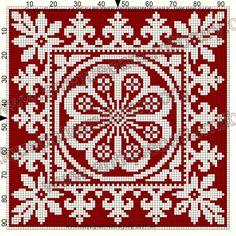 Gallery.ru / Фото #217 - Le Filet Ancien au Point de Reprise II - gabbach Cross Stitch Borders, Cross Stitch Designs, Cross Stitching, Cross Stitch Patterns, Filet Crochet, Crochet Cross, Folk Embroidery, Cross Stitch Embroidery, Embroidery Patterns