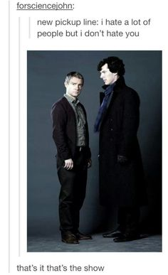 Welcome to Sherlock BBC... Welcome to the life of me and @haley van liew Hale