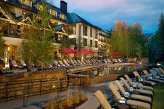 One of the nicest hotels I have ever stayed at! And a breakfast buffet to die for! Vail Resorts, Hotels and Lodging   Vail Cascade Resort & Spa   Vail Colorado Ski Resorts