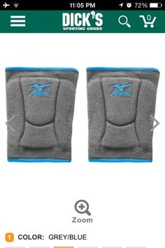 Mizuno highlighter knee pads... From Dick's sporting goods
