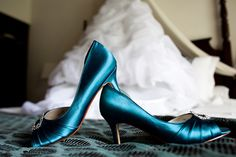 Blue Shoes - Like the idea of wearing blue shoes