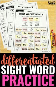 THE BEST SIGHT WORD FLUENCY WORKSHEETS OF ALL TIME – EDITABLE! Build sight word fluency with this editable set of sight word fluency worksheets! Type your words in and 15 different sight word worksheets will autofill. So EASY!  | sight word work | sight word practice | vocabulary list reading sight words kindergarten writing practice spelling worksheets first grade second grade vocabulary Homeschool vocabulary worksheets
