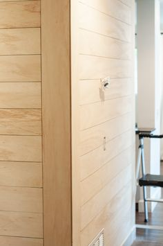 The easiest and cheapest way to shiplap a wall or room. This house project is great for rookies! A step by step guide including costs and time. Plywood Walls, Plywood Furniture, Modern Furniture, Furniture Design, White Shiplap Wall, Shiplap Diy, Plank Walls, Ship Lap Walls, Wall Treatments