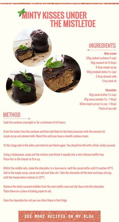 Chocolate Minty Kisses Recipe