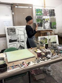 News – ines hildur   malerei painting peinture