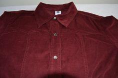 GAP Corduroy women's long sleeve button down shirt pearl snap size S 100% Cotton / my closet $10.50 + Shipping & Handling  http://www.ebay.com/itm/121564666841?ssPageName=STRK:MESELX:IT&_trksid=p3984.m1555.l2649