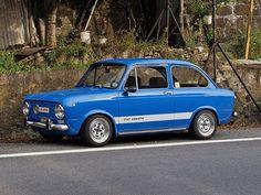 1967 Fiat 850 Abarth 1000 mijn echte allereerste auto geeindigd als crossauto op de zuidermarkweg