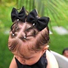 Toddler Hair Dos, Cute Toddler Hairstyles, Easy Little Girl Hairstyles, Kids Curly Hairstyles, Baby Girl Hairstyles, Pretty Hairstyles, Toddler Girls, Mixed Hair Care, Wacky Hair