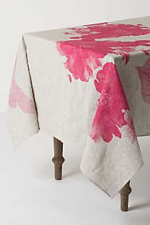 Anthropologie - Begonia Tablecloth