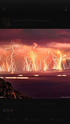 The Everlasting Storm - Most tremble at the sights and sounds of lightning & thunder. But imagine if you had to endure an epic storm tha. All Nature, Science And Nature, Amazing Nature, Catatumbo Lightning, Fuerza Natural, Cool Pictures, Cool Photos, Storm Pictures, Northern Lights