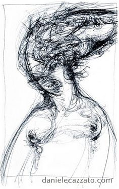 Portrait - cm 16x20, biro