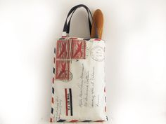 French market tote bag  French aeropostale french by FrenchMelody, $39.00