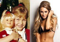 Entre 1997 e 1998, Carla Diaz viveu a órfã Maria em 'Chiquititas'. O sucesso da personagem rendeu papéis nas novelas 'Laços de Família' (2000) e 'O Clone' (2001). Atualmente, trabalha como atriz na nvoela 'Rebelde' da rede Record. O Clone Novela, Carla Diaz, Cool Kids, Bikinis, Swimwear, Cinema, Woman, Tv, Fashion