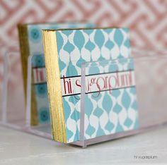 Hi Sugarplum | DIY Gilded Business Cards by hi sugarplum!,