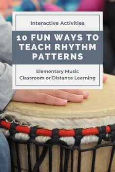 How to Use Interactive Rhythm Pattern Flashcards - Frau Musik USA