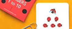Numbers & Math Printable flashcards and worksheets for elementary school from Mr. Printables.