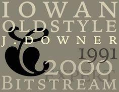 Iowan Oldstyle