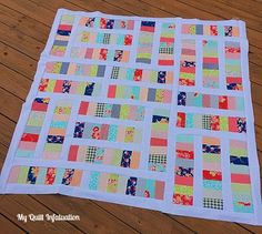 My Quilt Infatuation: Miss Kate Coins (jelly roll)