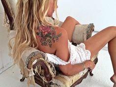#tattoos #coloredtattoos #backtattoos