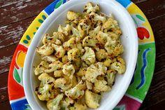 Garlic Parmesan Roasted Cauliflower - My Kitchen Escapades