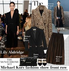 """NYFW: Lily Aldridge"" by vanjazivadinovic ❤ liked on Polyvore"