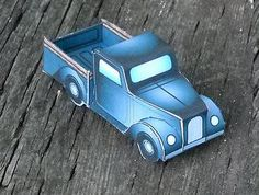 1930s Pickup Truck Paper Model