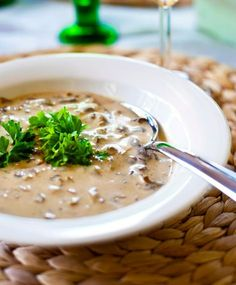 Se paras suppilovahverokeitto | Maku Soup Recipes, Vegetarian Recipes, Cooking Recipes, Healthy Recipes, Recipies, Healthy Gourmet, Food Porn, Good Food, Yummy Food