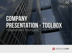 Our new template designed with skyscrapers offers the opportunity to company presentation powerpoint template basic toneelgroepblik Gallery