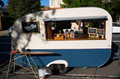 Get the look: the Interiors Addict guide to wedding styling That Vintage Caravan, Sweet Jane's Travelling Teahouse, wedding caravan, events, styling, bride, bride to be, navy, vintage caravan, spencer