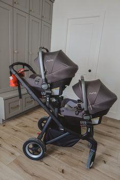 Best Twin Strollers, Cute Baby Strollers, Twin Baby Girls, Twin Babies, Car Seat And Stroller, Baby Car Seats, Carseat Stroller Combo, Designer Baby Clothes, Baby Boy Newborn