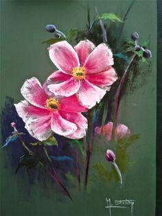Chalk Pastels, Dry Pastels, Flower Art, Art Flowers, Pastel Art, Paint Party, Beautiful Artwork, Painting Inspiration, Painting & Drawing