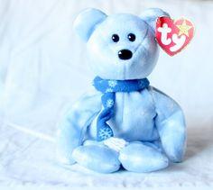 da4b56f0a4821e 1999 Holiday Teddy Christmas Beanie Baby Ty Christmas Bear Blue Christmas Beanie  Babies Vintage Plush Toy Collectable Christmas Beanie Baby