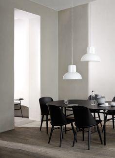 MENU Synnes Chair, Snarregade table & The Standard pendant