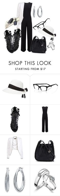 """""""MONEY AIN'T A THING:P"""" by michellesfashioncompany on Polyvore featuring eyebobs, Casadei, KamaliKulture, Alice + Olivia, Valentino and Nine West"""