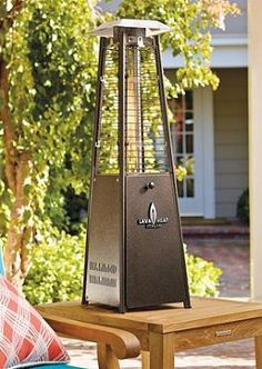 Perch the Empire Table Top Heater atop any table in your outdoor space to efficiently provide your outdoor parties with comfortable warmth late into the night.